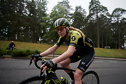 Alexandra Manly (AUS) on the final lap at Ladies Tour of Norway 2018 Stage 2, a 127.7 km road race from Fredrikstad to Sarpsborg, Norway on August 18, 2018. Photo by Sean Robinson/velofocus.com