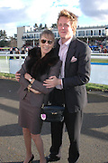 Diana Beamish and her son Harry Beamish, Ludlow Charity Race Day,  in aid of Action Medical Research. Ludlow racecourse. 24 march 2005. ONE TIME USE ONLY - DO NOT ARCHIVE  © Copyright Photograph by Dafydd Jones 66 Stockwell Park Rd. London SW9 0DA Tel 020 7733 0108 www.dafjones.com