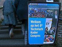 SOESTERBERG -  deelnemers op weg naar  het Technisch Kader congres 2015 olv Topcoach Koen Gonnissen. COPYRIGHT KOEN SUYK