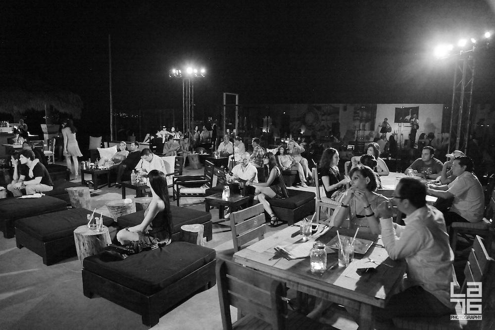 Escondido band playing live at Hotel El Ganzo in Los Cabos, Baja California Sur, Mexico (August 17, 2013) Escondido band performing at Hotel El Ganzo in San Jose del Cabo, Baja California Sur, Mexico