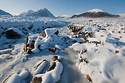 Buachaille Etive Mhor and Glencoe Hills, West Highlands.