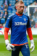Allan McGregor of Rangers FC during the Ladbrokes Scottish Premiership match between Rangers and Aberdeen at Ibrox, Glasgow, Scotland on 27 April 2019.