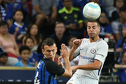 2017?7?29?.??????——????????????????..7?29?????????Ivan Perisic????????????Cesar Azpilicueta????????.???? ??????..Inter Milan's player Ivan Perisic (L) competes with Chelsea's player Cesar Azpilicueta (R) during the International Champions Cup match between Inter Milan and Chelsea held in Singapore's National Stadium on Jul 29, 2017..By Xinhua, Then Chih Wey..????????????2017?7?29? (Credit Image: © Then Chih Wey/Xinhua via ZUMA Wire)