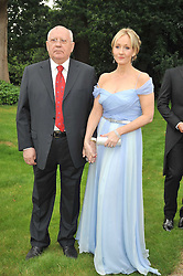 JK ROWLING and MIKHAIL GORBACHEV at the Raisa Gorbachev Foundation fourth annual fundraising gala dinner held at Stud House, Hampton Court, Surrey on 6th June 2009.
