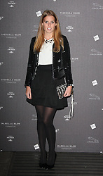 Princess Beatrice arriving at the opening of the  Isabella Blow at the Isabella Blow exhibition at Somerset House in London, Tuesday, 19th November 2013   Photo by: i-Images