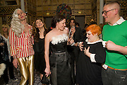 JOHNNY WOO; KELLY BROOK; AGYNESS DEYN; KATIE GRAND; BETH DITTO; GILES DEACON. Kate Grand hosts a Love Tea and Treasure hunt at Flash. Royal Academy. Burlington Gardens. London. 10 december 2008 *** Local Caption *** -DO NOT ARCHIVE-© Copyright Photograph by Dafydd Jones. 248 Clapham Rd. London SW9 0PZ. Tel 0207 820 0771. www.dafjones.com.<br /> JOHNNY WOO; KELLY BROOK; AGYNESS DEYN; KATIE GRAND; BETH DITTO; GILES DEACON. Kate Grand hosts a Love Tea and Treasure hunt at Flash. Royal Academy. Burlington Gardens. London. 10 december 2008