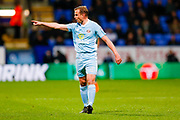 Sunderland midfielder Lee Cattermole (6) making a point  during the EFL Sky Bet Championship match between Bolton Wanderers and Sunderland at the Macron Stadium, Bolton, England on 20 February 2018. Picture by Simon Davies.