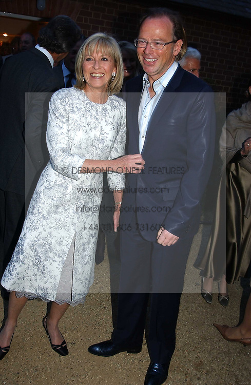 DIANA DONOVAN and DAVID COLLINS at the Cartier Chelsea Flower Show dinat the annual Cartier Flower Show Diner held at The Physics Garden, Chelsea, London on 23rd May 2005.<br /><br />NON EXCLUSIVE - WORLD RIGHTS