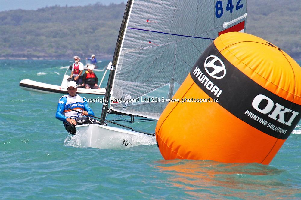 Race 7 Finn Gold Cup Takapuna - Pieter-Jan Postman (NED) - Race 7 winner