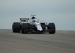 October 20, 2018 - Austin, USA - Williams Martini Racing driver Sergey Sirotkin (35) of Russia comes around Turn 10 during qualifying at the Formula 1 U.S. Grand Prix at the Circuit of the Americas in Austin, Texas on Saturday, Oct. 20, 2018. (Credit Image: © Scott Coleman/ZUMA Wire)