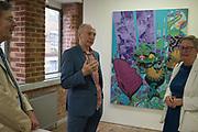 DAVID ROYLE,  Focus on Painting, Medium Oil, David Royle and Gianluca pisano,  Bermondsey Project Space, London. 30 May 2018.