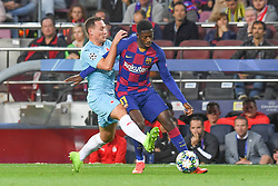 November 5, 2019, Barcelone, Espagne: FOOTBALL: FC Barcelone vs SK Slavia Praha - Champions League - 05/11/2019.Ousmane Dembele. (Credit Image: © Panoramic via ZUMA Press)