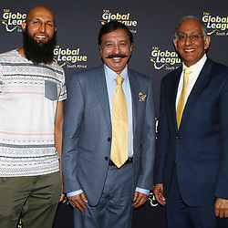 11,08,2017 The T20 Global League press conference with the owner Durban Franchise, Mr Fawad Rana.