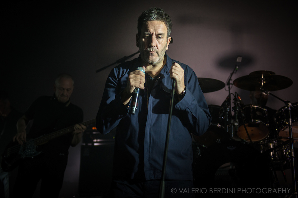 Terry Hall singer of Coventry band The Specials taking their UK 2016 tour to a sold out Cambridge Corn Exchange