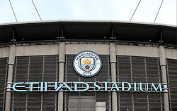 A general view of the Etihad stadium ahead of the match during the Premier League match at the Etihad Stadium, Manchester.
