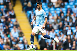 Riyad Mahrez of Manchester City - Mandatory by-line: Robbie Stephenson/JMP - 19/08/2018 - FOOTBALL - Etihad Stadium - Manchester, England - Manchester City v Huddersfield Town - Premier League
