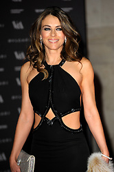Elizabeth Hurley attends the preview of The Glamour of Italian Fashion exhibition at Victoria & Albert Museum, London, United Kingdom. Tuesday, 1st April 2014. Picture by Chris Joseph / i-Images