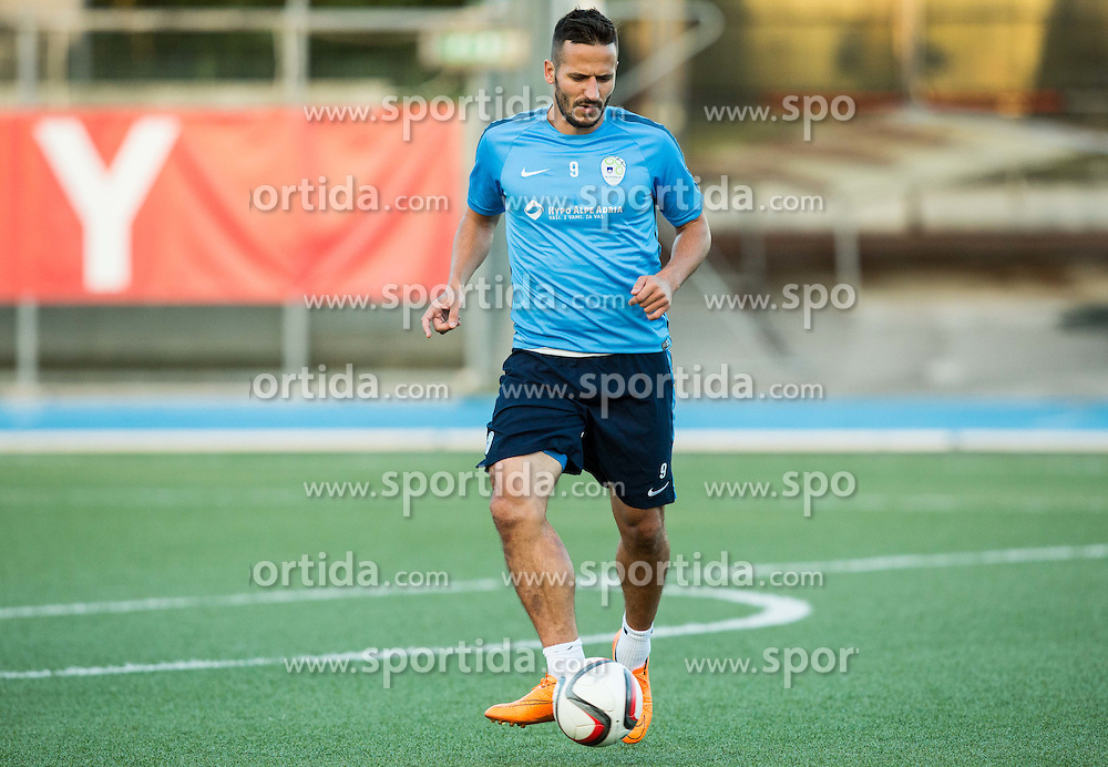 Zlatan Ljubijankic of Slovenia during the practice session of Team Slovenia 1 day before EURO 2016 Qualifier Group E match between Slovenia and San Marino, on October 11, 2015 in Riccione, Italy. Photo by Vid Ponikvar / Sportida