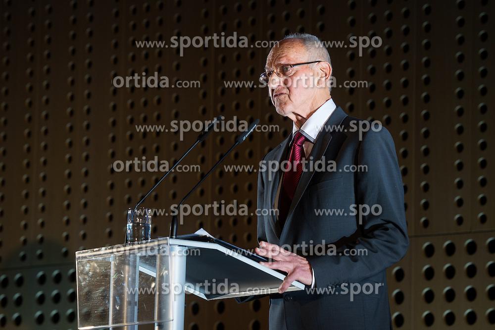 Miroslav Cerar at 52th Annual Awards of Stanko Bloudek for sports achievements in Slovenia in year 2016 on February 14, 2017 in Brdo Congress Center, Brdo, Ljubljana, Slovenia.  Photo by Martin Metelko / Sportida