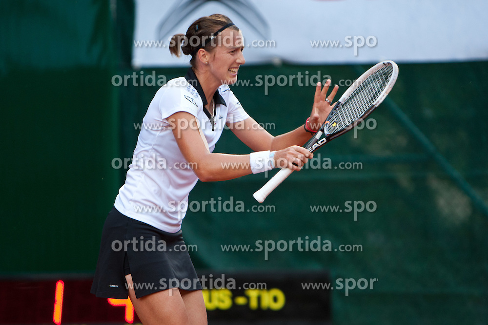 13.07.2011, Hotel Europaeischer Hof, Bad Gastein, AUT, WTA Tour, Nuernberger Gastein Ladies 2011, 1. Runde, Laura Pous-Tio (ESP) vs Kristina Barrois (GER), im Bild Kristina Barrois (GER) // during WTA Tour Nuernberger Gastein Ladies 2011 tennis tournier, round 1 at hotel Europaeischer Hof, Bad Gastein, Austria on 13/7/2011. EXPA Pictures © 2011, PhotoCredit: EXPA/ J. Groder
