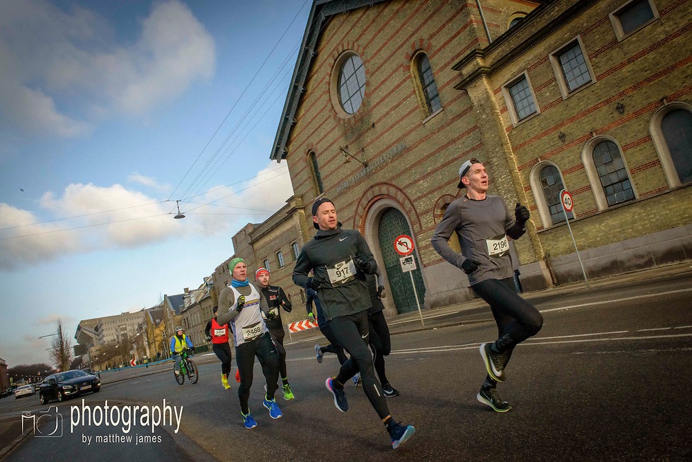 Action and sports photography from the Second Nike Marathon Test in Copenhagen