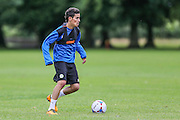 Forest Green Rovers Mohammed Chemial during the Forest Green Rovers Training at the Cirencester Agricultural College, Cirencester, United Kingdom on 12 July 2016. Photo by Shane Healey.