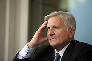 Jean-Claude Trichet, President of European Central Bank ( BCE ), at Ambrosetti Workshop in Cernobbio, September 3, 2011. © Carlo Cerchioli