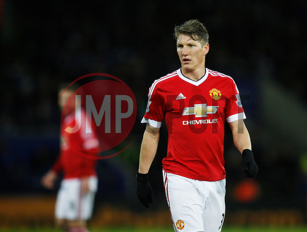 Bastian Schweinsteiger of Manchester United  - Mandatory byline: Jack Phillips/JMP - 07966386802 - 28/11/2015 - SPORT - FOOTBALL - Leicester - King Power Stadium - Leicester City v Manchester United - Barclays Premier League