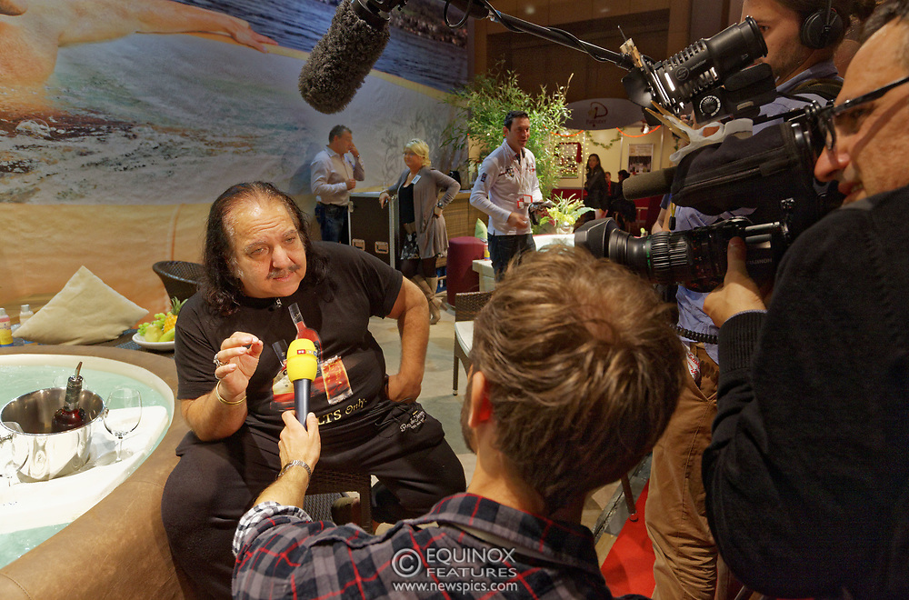 Berlin, Germany - 18 October 2012<br /> Porn star Ron Jeremy promoting his 'Ron Jeremy' brand of rum at the Venus Berlin 2012 adult industry exhibition in Berlin, Germany. Ron Jeremy, born Ronald Jeremy Hyatt, has been an American pornographic actor since 1979. He faces sexual assault allegations which he strenuously denies. There is no suggestion that any of the people in these pictures have made any such allegations.<br /> www.newspics.com/#!/contact<br /> (photo by: EQUINOXFEATURES.COM)<br /> Picture Data:<br /> Photographer: Equinox Features<br /> Copyright: &copy;2012 Equinox Licensing Ltd. +448700 780000<br /> Contact: Equinox Features<br /> Date Taken: 20121018<br /> Time Taken: 12172793