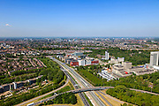 Nederland, Utrecht, Utrecht, 27-05-2013; kantoorenpark Rijnsweerd-Noord, knooppunt Rijnsweerd.<br /> Utrecht, office park.<br /> luchtfoto (toeslag op standard tarieven)<br /> aerial photo (additional fee required)<br /> copyright foto/photo Siebe Swart