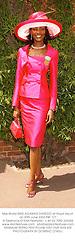 Miss World MISS AGABANI DAREGO at Royal Ascot on 20th June 2002.PBF 127