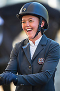 Pippa Goddard - Chilli<br /> FEI WBFSH World Breeding Jumping Championships for Young Horses 2017<br /> © DigiShots