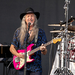 June 16, 2018 - Madison, Wisconsin, U.S - PATRICK SIMMONS of The Doobie Brothers during The Summer of Living Dangerously Tour at Breese Stevens Field in Madison, Wisconsin (Credit Image: © Daniel DeSlover via ZUMA Wire)