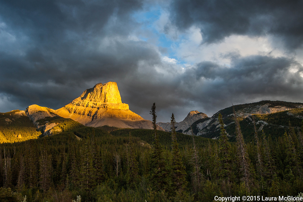 Rocky Mountain Brilliant Light, Alberta Canada