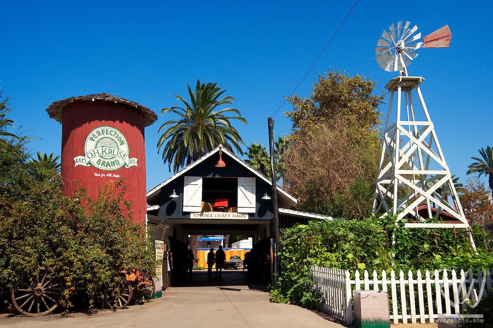Vintage Craft Barn at California's Heritage Square, LA County Fair, Pomona, California