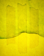 abstraction in yellow