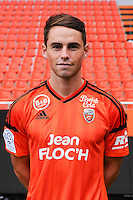 Vincent Le Goff during the Fc Lorient photocall for the season 2016/2017 in Lorient on September 16th 2016<br /> Photo : Philippe Le Brech / Icon Sport