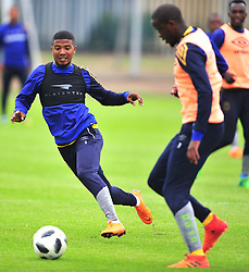 Cape Town--180329 Cape Town City defender Lyle Lakay  at training preparing for heir Nedbank Cup game against Sundowns on sunday  .Photographer;Phando Jikelo/African News Agency/ANA
