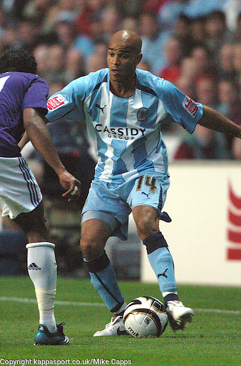 LEON McKENZIE, COVENTRY CITY, Coventry City - Newcastle United, Utd Carling Cup Ricoh Stadium, Coventry, 26th August 2008 26/8/08
