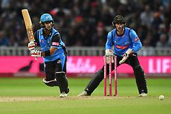 Worcestershire Rapids' Brett D'Oliveira bats during the Vitality T20 Blast Final on Finals Day at Edgbaston, Birmingham.