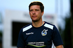 Bristol Rovers manager Darrell Clarke - Mandatory by-line: Robbie Stephenson/JMP - 29/08/2017 - FOOTBALL - Adam's Park - High Wycombe, England - Wycombe Wanderers v Bristol Rovers - Checkatrade Trophy