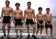 Shi Lung town Sports Academy weightlifters