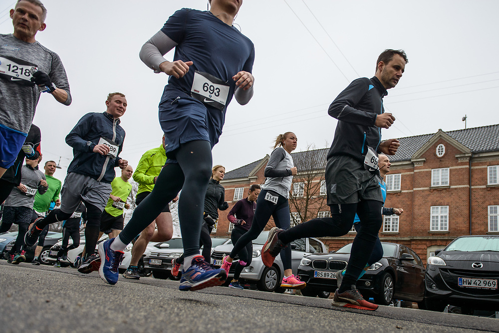 Running photographs from the fourth and final Copenhagen Marathon Test