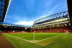 A general view of Anfield - Mandatory byline: Matt McNulty/JMP - 02/03/2016 - FOOTBALL - Anfield - Liverpool, England - Liverpool v Manchester City - Barclays Premier League
