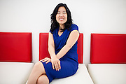 Michelle Rhee, founder and CEO of StudentsFirst poses for a portrait in their Sacramento, California office April 27, 2012. REUTERS/Max Whittaker (UNITED STATES)