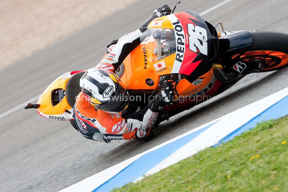 Jerez - Round 2 - MotoGP - Gran Premio de Espana - Jerez Spain - April 1-3, 2011.:: Contact me for download access if you do not have a subscription with andrea wilson photography. ::  ..:: For anything other than editorial usage, releases are the responsibility of the end user and documentation will be required prior to file delivery ::..