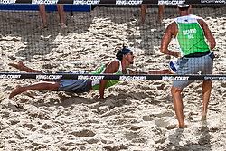 07-09-2018 NED: King of the Court, Utrecht<br /> 5 teams play in 3 rounds for the title 'King of the Court / Team Brazil with Harley & Ricardo