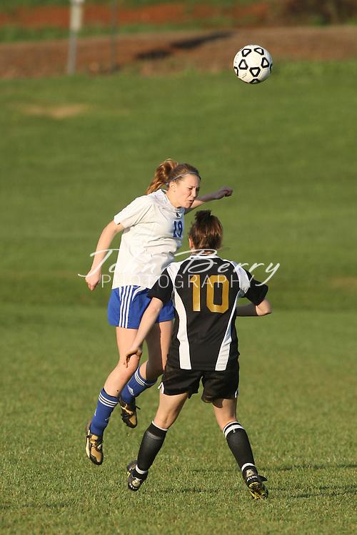 MCHS Varsity Girl's Soccer .vs Manassas Park .4/21/2009