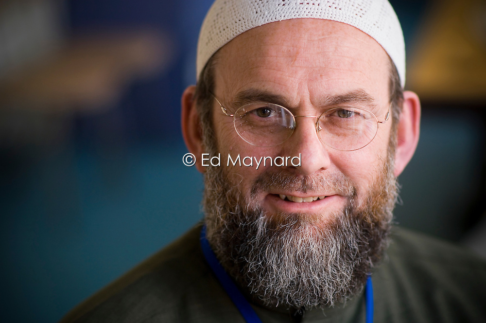 Ibrahim Hewitt, head teacher and founder of the Al-Aqsa Primary School, Leicester, England, UK.