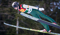 14.12.2013, Nordische Arena, Ramsau, AUT, FIS Nordische Kombination Weltcup, Skisprung, Wettkampfdurchgang, im Bild Kristian Ilves (EST) // Kristian Ilves (EST) during Ski Jumping of FIS Nordic Combined World Cup, at the Nordic Arena in Ramsau, Austria on 2013/12/14. EXPA Pictures © 2013, EXPA/ JFK